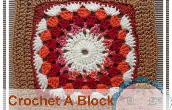 Granny Starburst|Crochet A Block Series|Creative Crochet Workshop