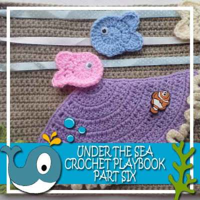 Under The Sea Crochet Playbook Part Six|Creative Crochet Workshop