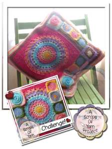 Scraps Of Yarn Series | Carnival Reversible Cushion | Creative Crochet Workshop
