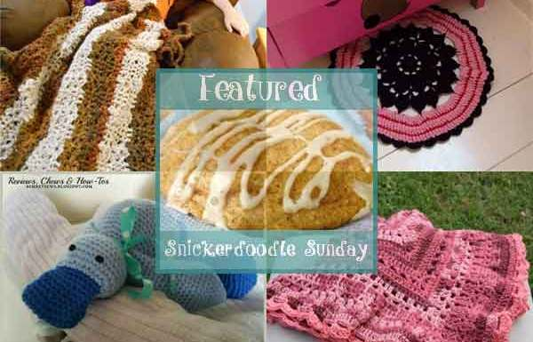 Snickerdoodle Sunday Linky Party #133 Features|Creative Crochet Workshop