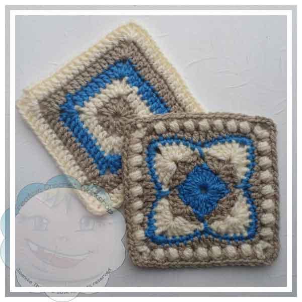 Ester's Tote Granny Squares Feature One|Creative Crochet Workshop