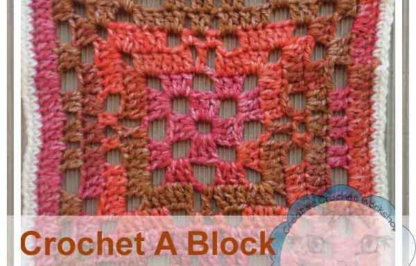 OPEN LACE GRANNY SQUARE|CROCHET A BLOCK SERIES|CREATIVE CROCHET WORKSHOP