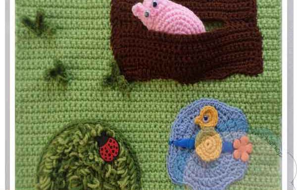 THE FARMYARD PLAYBOOK CROCHET ALONG PART THREE|CREATIVE CROCHET WORKSHOP