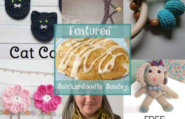 SNICKERDOODLE SUNDAY LINKY PARTY #142 FEATURES|CREATIVE CROCHET WORKSHOP