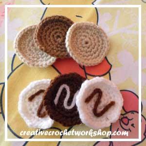 LITTLE COOKIE BAKING SET|COOKIE ICING|CREATIVE CROCHET WORKSHOP