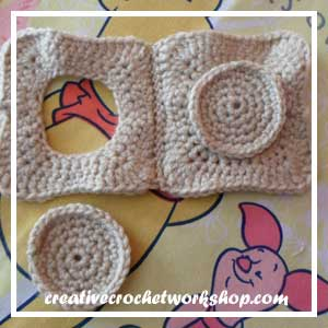 LITTLE COOKIE BAKING SET|COOKIE DOUGH AND COOKIE PREVIEW 002|CREATIVE CROCHET WORKSHOP