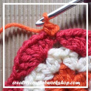 HEXAGON IN A SQUARE|STEP 005| CROCHET A BLOCK|CREATIVE CROCHET WORKSHOP