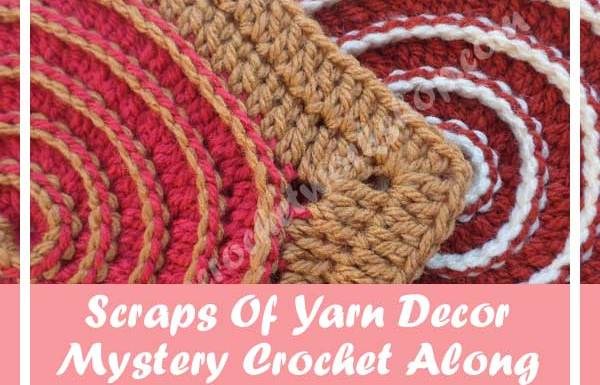 SCRAPS OF YARN CUSHION MYSTERY CAL|AUGUST 2016 PART FOUR|CREATIVE CROCHET WORKSHOP