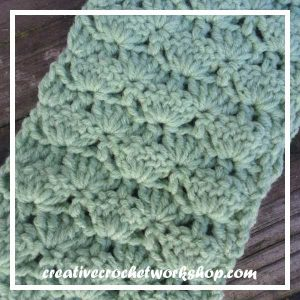 ccw-lacyfaninfinityLACY FAN INFINITY SCARF CLOSE UP|SCARF OF THE MONTH 2016|CREATIVE CROCHET WORKSHOP