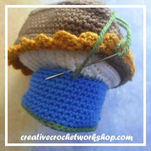 LITTLE SAILOR SET PART FIVE|LITTLE TOY BOAT STEP 10|CREATIVE CROCHET WORKSHOP