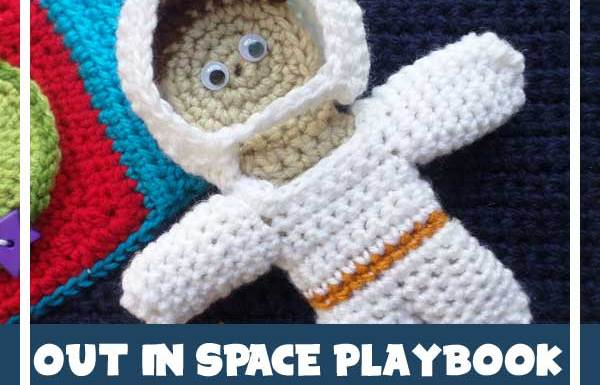 OUT IN SPACE PLAYBOOK PARK FIVE|CROCHET ALONG|CREATIVE CROCHET WORKSHOP