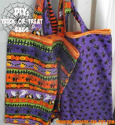 DIY Trick Of Treat Bags|Snickerdoodle Party Sewing Feature|September 2016|Creative Crochet Workshop
