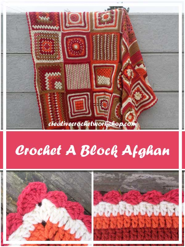 CROCHET A BLOCK 2016 AFGHAN | CREATIVE CROCHET WORKSHOP
