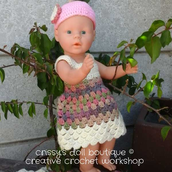 Spring Flower Set - Free Crochet Pattern - Dress | Creative Crochet Workshop