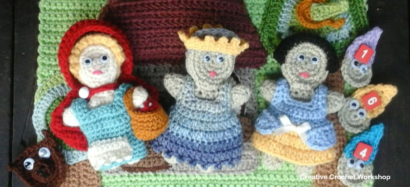 My Fairy Tale Playbook Part Two | Free Crochet Pattern | Creative Crochet Workshop @creativecrochetworkshop #ccwfairytaleplaybook