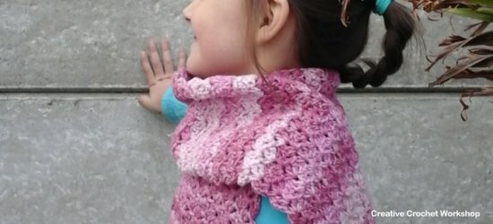PINK MELODY SCARF FEATURE IMAGE | CREATIVE CROCHET WOKRSHOP