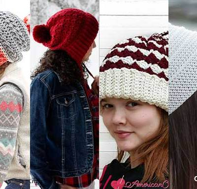 WINTER SLOUCHY FUN – Pattern Round Up