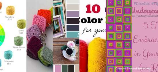Creative Color Inspiration | Tips & Cool Ideas | Creative Crochet Workshop @creativecrochetworkshop