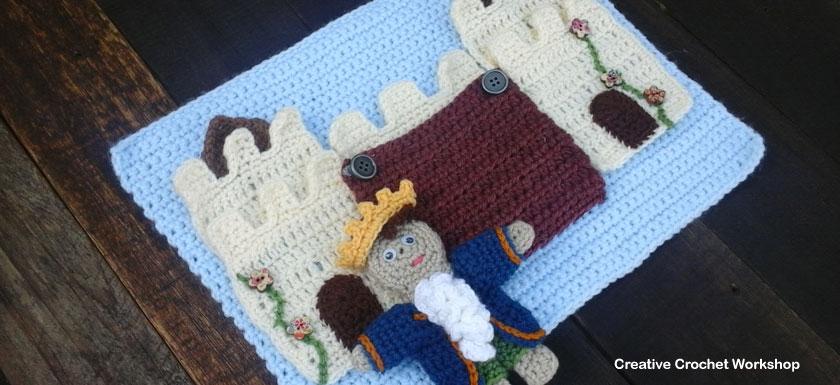 My Fairy Tale Playbook Part Four | Free Crochet Pattern | Creative Crochet Workshop @creativecrochetworkshop #ccwfairytaleplaybook