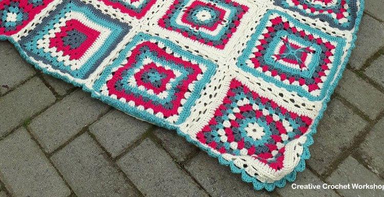 Crochet A Block Afghan 2017