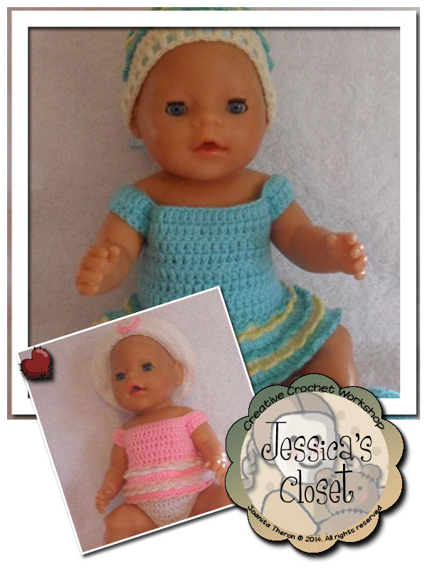 Jessica's Closet Baby Doll Summer Dress Set 2 | Crissy's Doll Boutique @crissysdollboutique