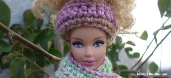 Easy Messy Bun Hat | Cherry's Boutique | Crissy's Doll Boutique @crissysdollboutique