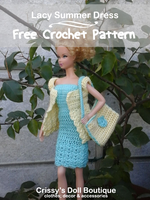 Lacy Summer Dress   Cherry's Boutique   Crissy's Doll Boutique @crissysdollboutique