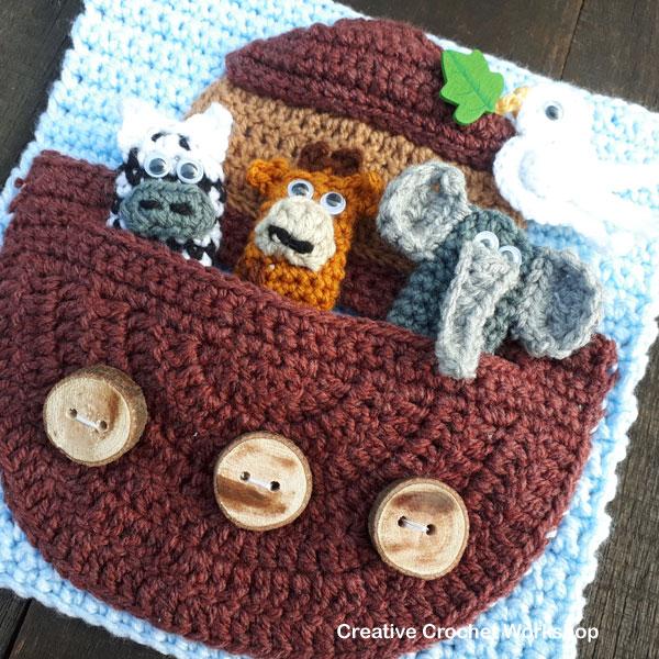 My Bible Stories Playbook Part Three | Free Crochet Pattern | Creative Crochet Workshop @creativecrochetworkshop #ccwbiblestoriescrochetalong