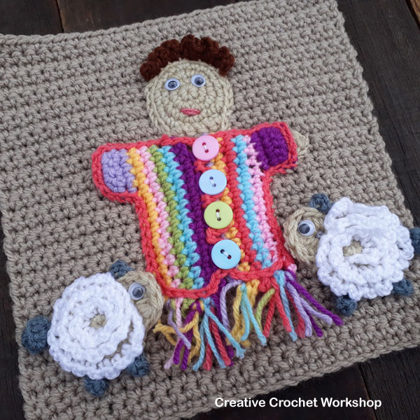 My Bible Stories Playbook Part Four | Free Crochet Pattern | Creative Crochet Workshop @creativecrochetworkshop #ccwbiblestoriescrochetalong