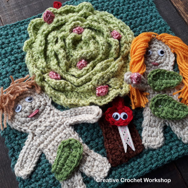 My Bible Stories Playbook Part Two | Free Crochet Pattern | Creative Crochet Workshop @creativecrochetworkshop #ccwbiblestoriescrochetalong