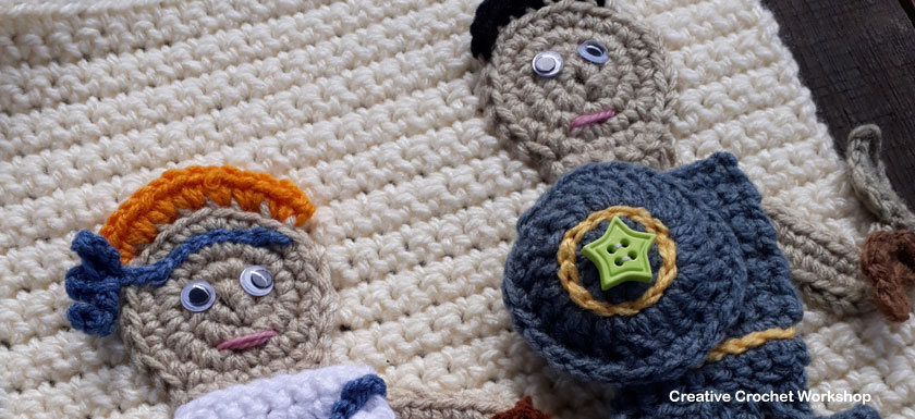 My Bible Stories Playbook Part Seven | Free Crochet Pattern | Creative Crochet Workshop @creativecrochetworkshop #ccwbiblestoriescrochetalong
