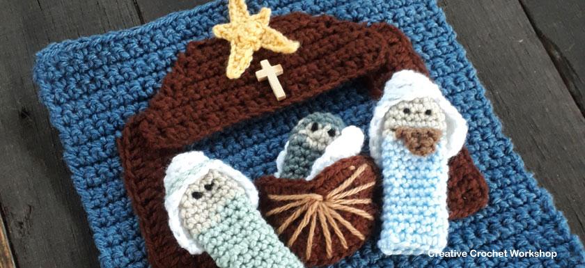 My Bible Stories Playbook Part Ten | Free Crochet Pattern | Creative Crochet Workshop @creativecrochetworkshop #ccwbiblestoriescrochetalong