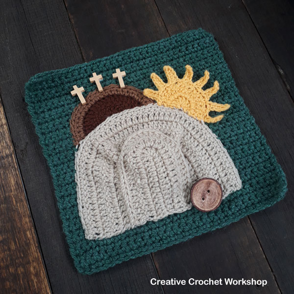 My Bible Stories Playbook Part Twelve | Free Crochet Pattern | Creative Crochet Workshop @creativecrochetworkshop #ccwbiblestoriescrochetalong