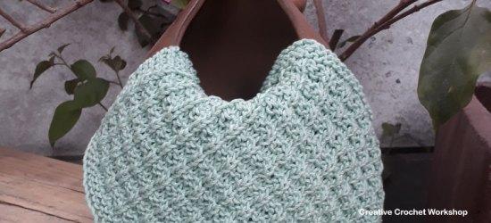 Ridge Rib Dishcloth - Knitted Kitchen Blog Hop | Creative Crochet Workshop @creativecrochetworkshop #knittedkitchen