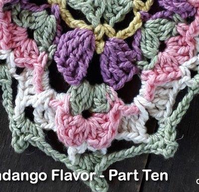 Flower Fandango Flavor Part Ten - Free Crochet Pattern | Creative Crochet Workshop | #ccwflowerfandangoflavor #crochetalong #crochet @creativecrochetworkshop