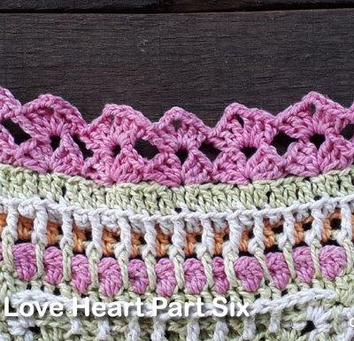 Psychedelic Love Heart Part Six - Free Crochet Pattern | Creative Crochet Workshop | #ccwpsychedelicloveheart #crochetalong #crochet @creativecrochetworkshop