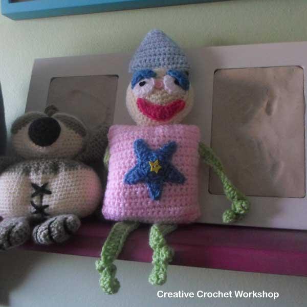Shape Buddy Play Clown | Creative Crochet Workshop #freecrochetpattern #crochet @creativecrochetworkshop