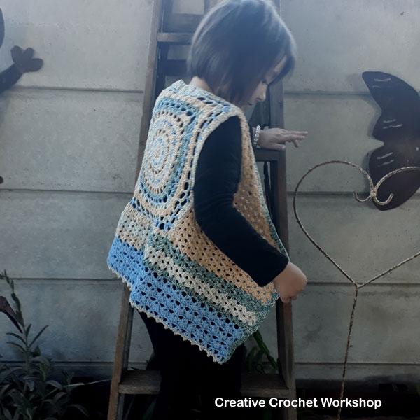 Maya Vest Review - Summer 2018 Crochet Magazine | Creative Crochet Workshop