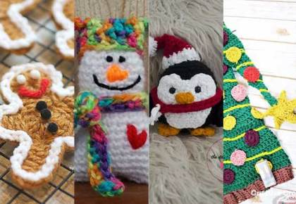 Cute Christmas Gifts & Decor To Make! | Creative Crochet Workshop