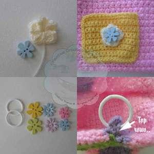 Little Lady Flower Purse - Free Crochet Pattern | Creative Crochet Workshop #freecrochetpattern #crochet @creativecrochetworkshop