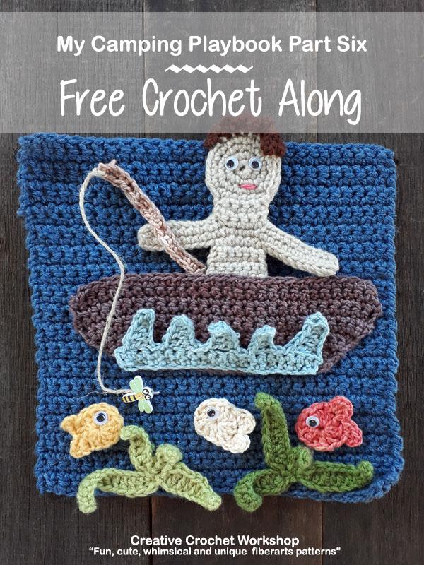 My Camping Playbook Part Six | Free Crochet Pattern | Creative Crochet Workshop @creativecrochetworkshop #ccwcampingplaybookcal #freecrochetalong #crochetquietbook