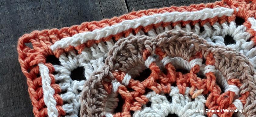 Scalloped Flower Square Creative Crochet Workshop