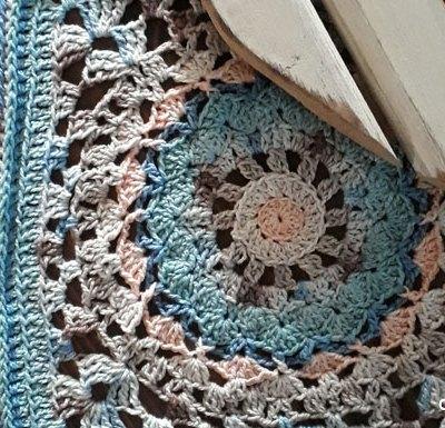 Vintagelicious Square Part Three - Free Crochet Along | Creative Crochet Workshop #ccwvintagelicioussquare #crochetalong #scrapsofyarn