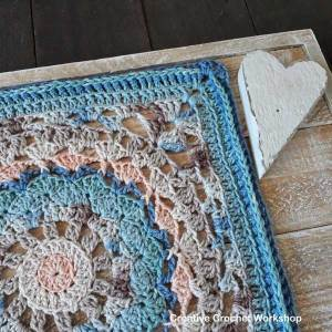 Vintagelicious Square Part Three - Free Crochet Along | Creative Crochet Workshop #ccwvintagelicioussquare #crochetalong #scrapsofyarn