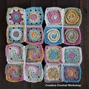 Scrapsrific Rainbow Blanket Part Five - Free Crochet Pattern | Creative Crochet Workshop @creativecrochetworkshop #freecrochetpattern #grannysquare #afghansquare #crochetalong #ccwscrapsrificrainbowblanket