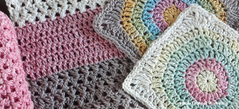 Scrapsrific Rainbow Blanket Part Six - Free Crochet Pattern | Creative Crochet Workshop @creativecrochetworkshop #freecrochetpattern #grannysquare #afghansquare #crochetalong #ccwscrapsrificrainbowblanket