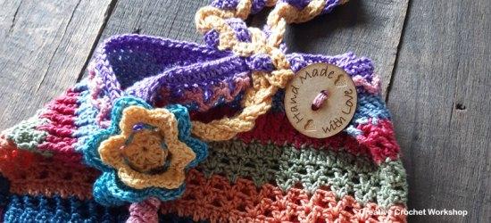Scrapsrific Rainbow Bag Part Four - Free Crochet Pattern | Creative Crochet Workshop #freecrochetpattern #crochet #crochetalong #crochetbag #ccwscrapsrificrainbowbag @creativecrochetworkshop