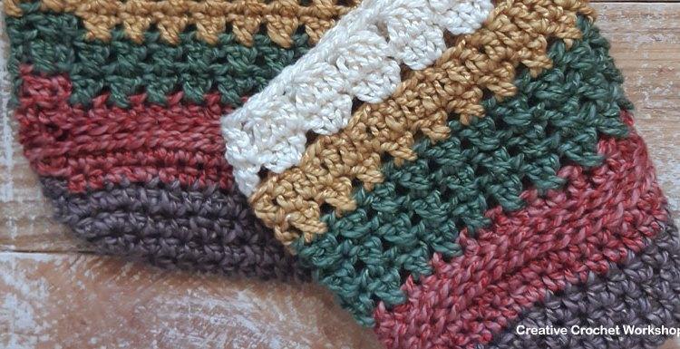 Scrapsrific Rainbow Bag Part One - Free Crochet Pattern   Creative Crochet Workshop #freecrochetpattern #crochet #crochetalong #crochetbag #ccwscrapsrificrainbowbag @creativecrochetworkshop