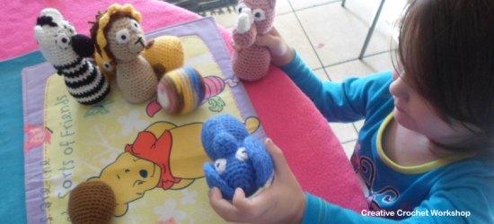 Safari Animal Crochet Play Set - Free Crochet Pattern | Creative Crochet Workshop #freecrochetpattern #crochet #crochetdoll #safarianimal #playset #crochettoy #crochetsoftie @creativecrochetworkshop