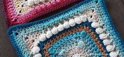 Tasi Flurry Crochet Square - Crochet A Block 2021   Creative Crochet Workshop @creativecrochetworkshop #crochetsquare #freecrochetalong #crochetblanket #crochetthrow #ccwcrochetablock2021